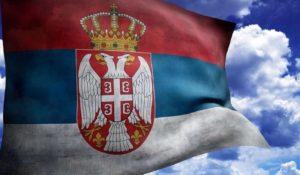 Флаг и герб Сербии
