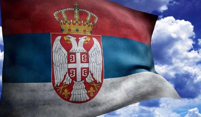 Герб и флаг Республики Сербия