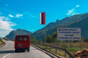 пересечение границы сербия косово