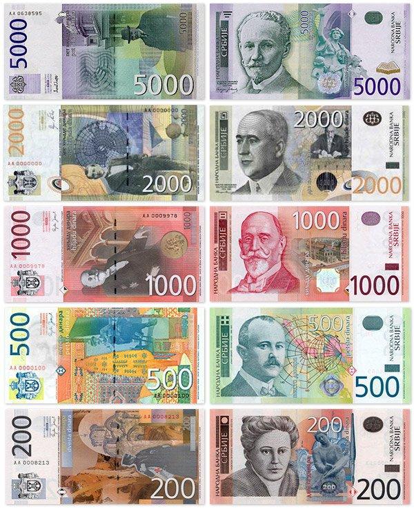 валюта сербии
