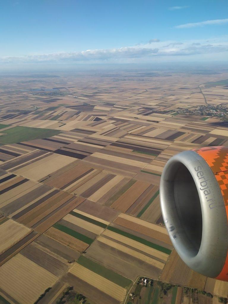 общая информация о Сербии с высоты птичьего полета