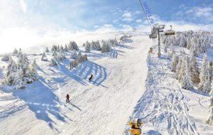 катание на лыжах в сербии