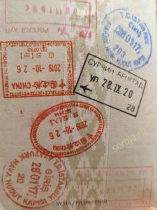 Визовый режим в Сербию