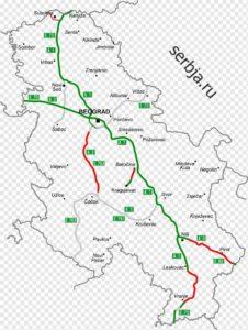 платные дороги сербии