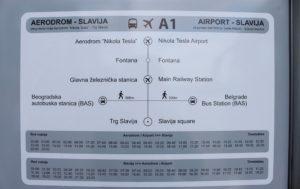 Расписание шатлов Белград Аэропорт