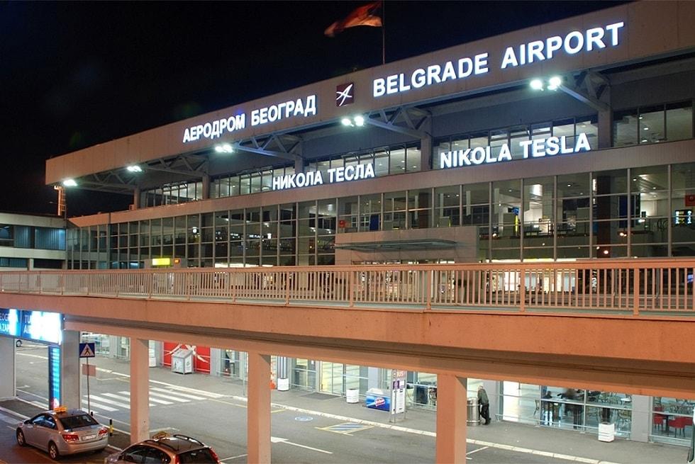Международные аэропорты Сербии