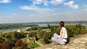 Белградская крепость и Дунай
