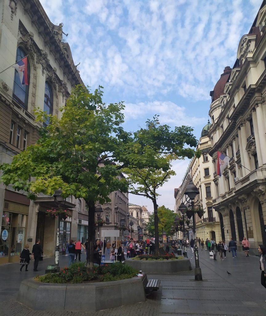 Главная пешеходная улица белграда