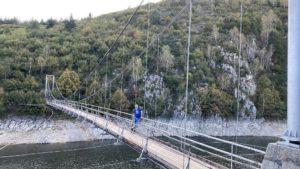 Подвесной пешеходный мост Увац