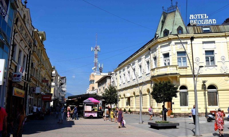 Центр города Чачак