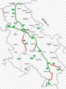 города сербии на карте