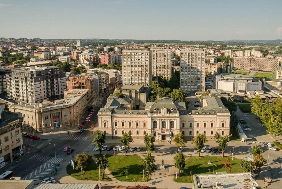 Главная площадь Крагуевац