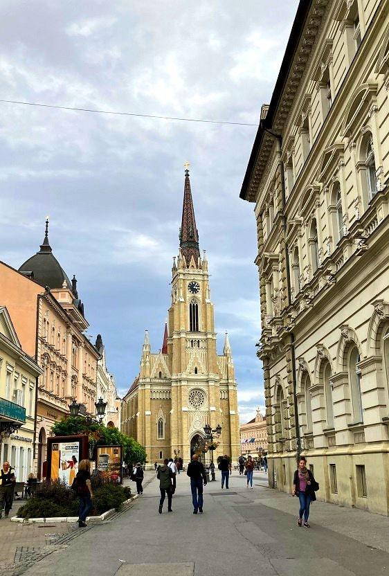 Главная площадь Нови-Сад
