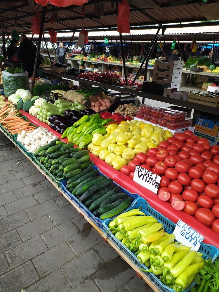 Овощной рынок Сербии