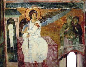 фрески монастыря милешева