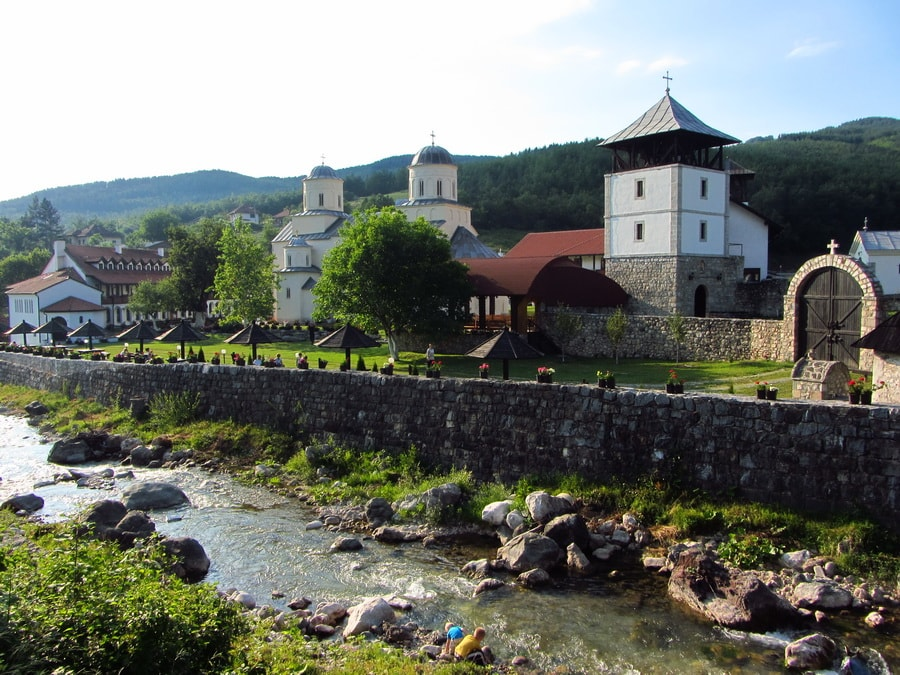 Милешева монастырь на реке