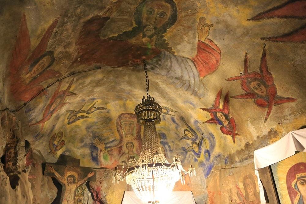 Фрески в монастыре Милешева