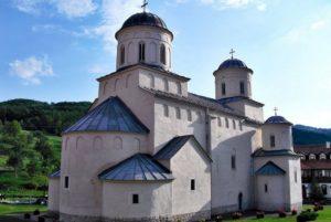 Монастырь Милешева Сербия