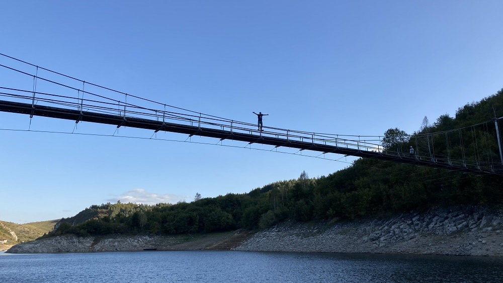 мост через увац