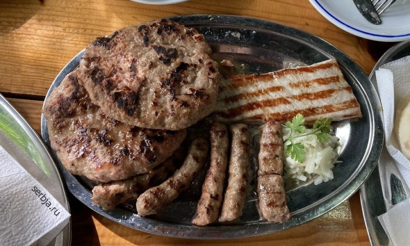 Национальная кухня Сербии