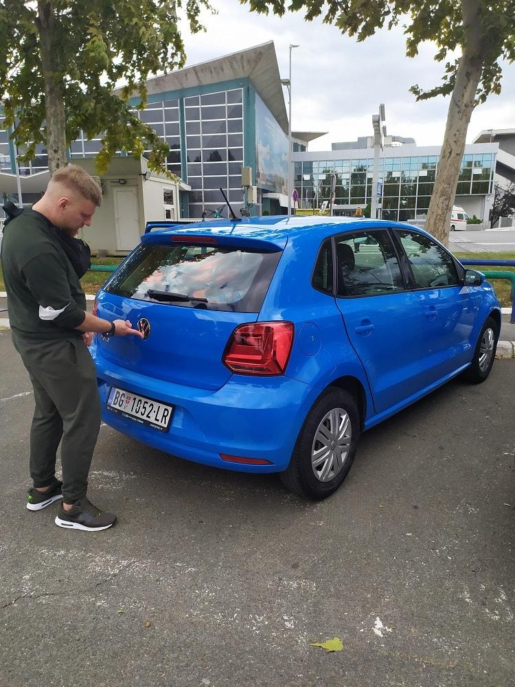 прокат авто в аропорту Белграда