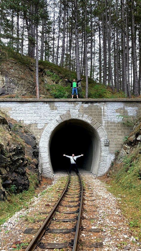 Тонель на железной дороге Сербии