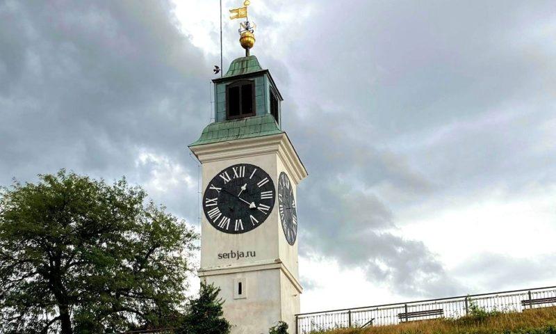 Время в Сербии