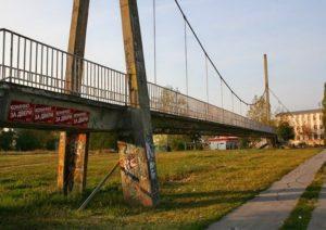 сухой мост в Зренянине