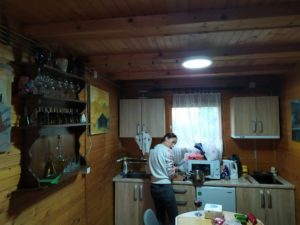 Кухня в доме в Джердапе