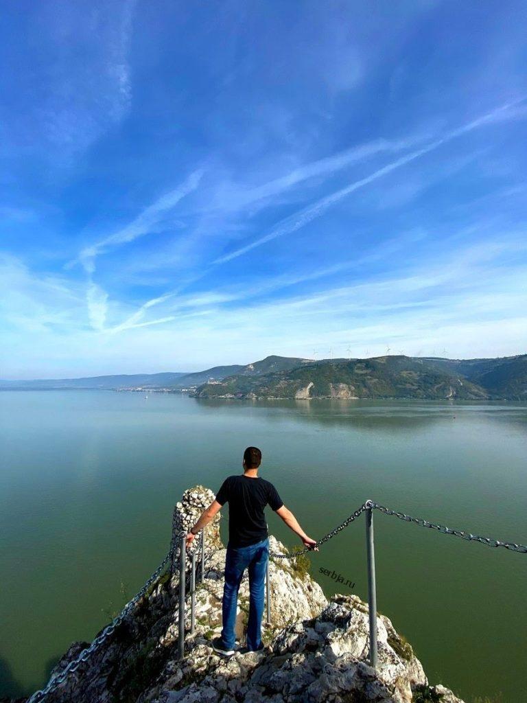 Дунай около железных ворот