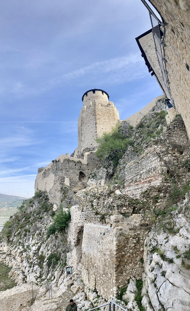 Башни крепости в Голубаце