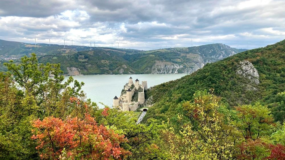 Обзорная площадка Голубацкая крепость