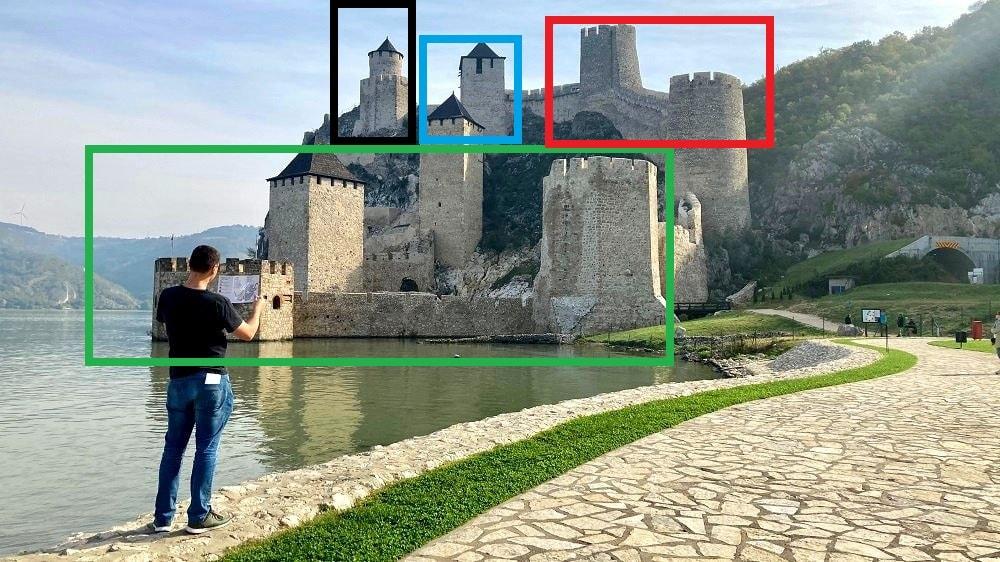Маршруты Голубацкой крепости