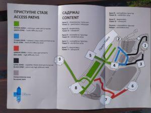Карта маршрутов Голубаца