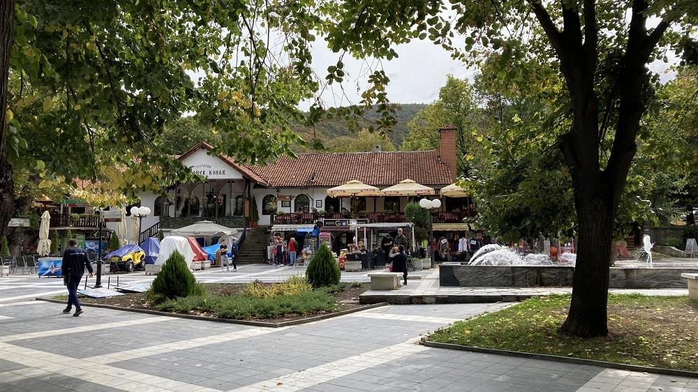 Главная улица Сокобаня