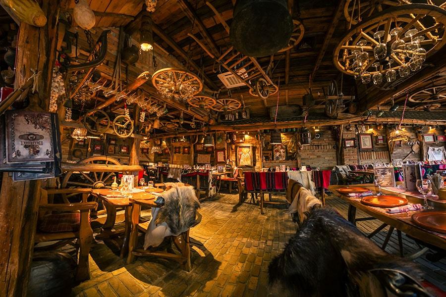 этно ресторан Динар город Вршац