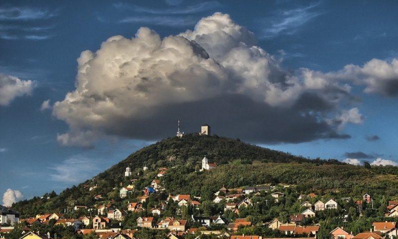 Вид на город Вршац