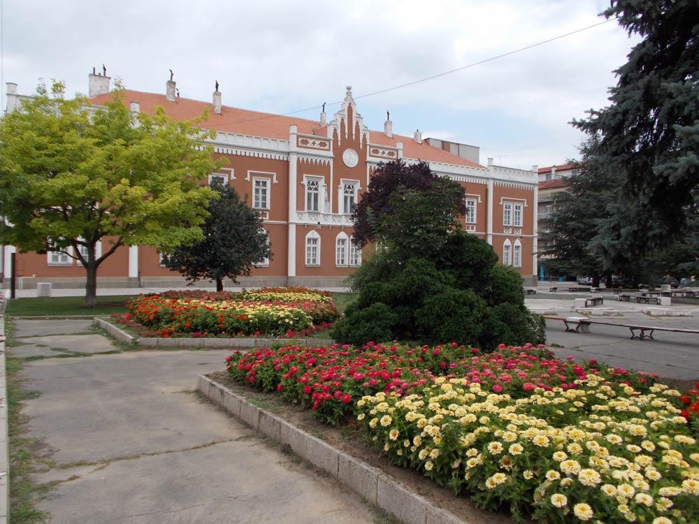 городская мэрия в городе Вршац