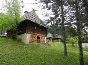 Брвнара - главный хозяйский дом