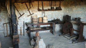 Мастерская в этно музее Старо Село