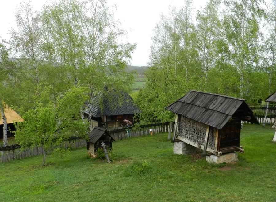 Салаш и курятник в Старо Село Сербия